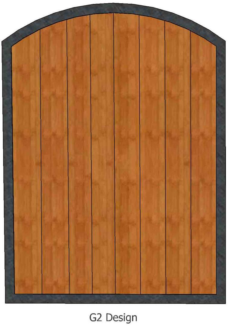 Gates Iron Wood Gates