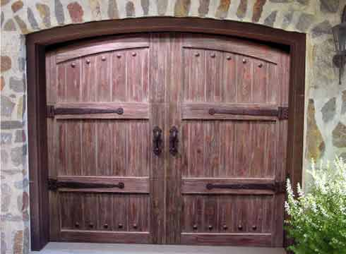 Garage Door Hardware Decor