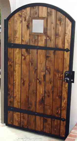 Wood Gate Designs Photos