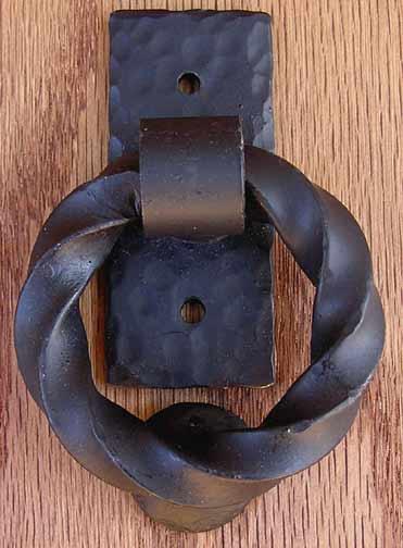 Attrayant Rustic Iron Ring Knocker   Door Knocker, Gate Knocker