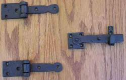 Hinge / Latch set, Speakeasy hinge and latch set
